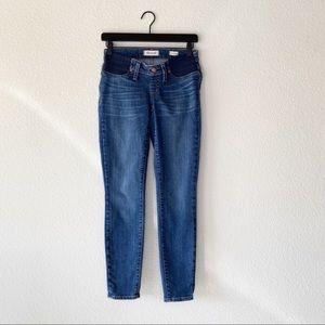 ▪️Madewell▪️Maternity Side-Panel Skinny Jeans